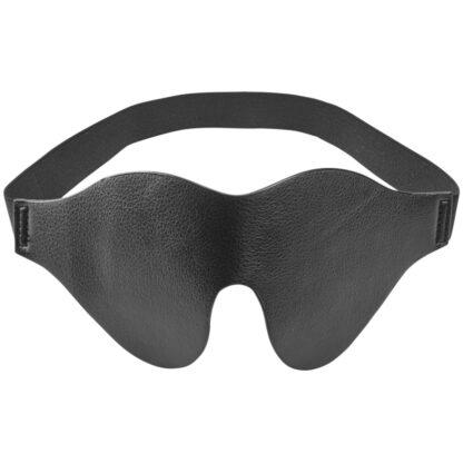 Obaie Imitert Lær Blindfold