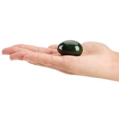 Jade Egg til Yoni Massasje og Bekkenbunnstrening